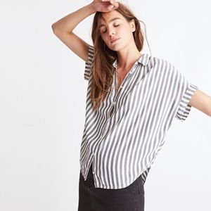 Madewell Tops - Madewell Central Shirt In Stripe